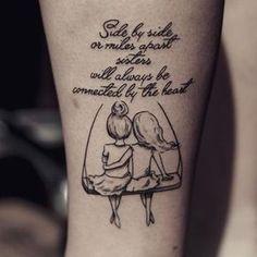 frases para tatuajes de hermanas super lindos