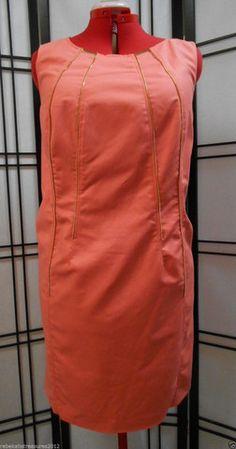 Calvin Klein Womens Plus Size Coral Melon Sheath Dress 18W – Rebekah's Treasures