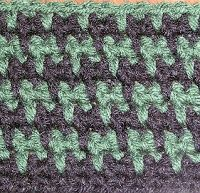 ... pattern houndstooth more crochet stitch houndstooth scarf crochet blog