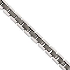 Metal Material: Stainless Steel Gunmetal IP Plated Polished and Brushed Finish Chain in Chain mm Clasp /Connector: Fold Over Catch Clasp Thickness (Female mm Clasp Thickness (Male mm Clasp Width (Female mm Gift Boxed Wholesale Body Jewelry, Green Gifts, Bracelet Sizes, Link Bracelets, Types Of Metal, Plating, Stainless Steel, Edgy Style, Accessories