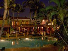 La Playa Mazatlan pool & Courtyard