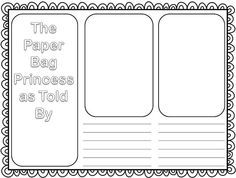 Booking Across Canada - The Paper Bag Princess - Elementary AMC Princess Activities, Fairy Tale Activities, Reading Activities, Literacy Activities, Reading Charts, First Grade Reading, Author Studies, Teaching Ideas, Fairy Tales