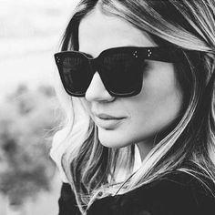 Ladies Fashion Sunglasses Women Flat Top Oversize Shield Shape Glasses