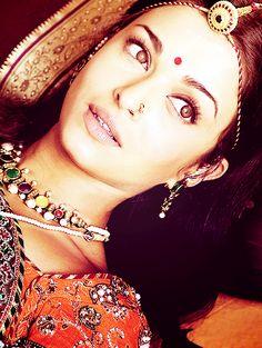 Jodhaa Akbar (2008). She makes excellent inspiration.