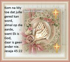 Here Jesus U is my alles, sonder U Is ek niks.