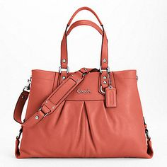 ASHLEY LEATHER CARRYALL - SATCHELS & CARRYALLS - HANDBAGS - The Full Swing Into Summer Event