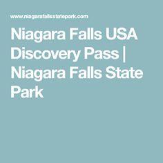 Niagara Falls USA Discovery Pass | Niagara Falls State Park