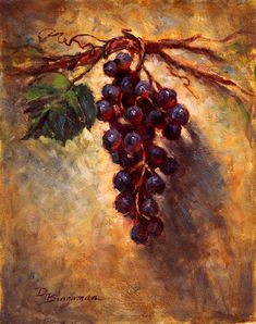 The Grape Vine Painting by Donna Bingaman - The Grape Vine Fine Art Prints and Posters for Sale