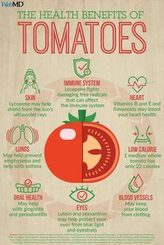 health facts Tomatoes arent just delicious -- theyre also packed with vitamins and antioxidants that keep your whole body healthy. Tomato Benefits, Health Benefits Of Tomatoes, Matcha Benefits, Fruit Benefits, Weight Loss Meals, Tomato Nutrition, Health And Nutrition, Nutrition Guide, Nutrition Education