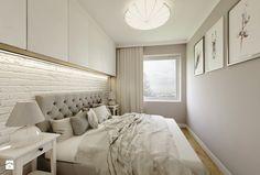 Nowoczesny styl prowansalski - Mała sypialnia małżeńska, styl nowoczesny - zdjęcie od Przestrzenie