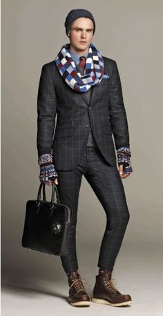 Hackett London A/W 2012. It would be asking way too much for a man to dress like this...