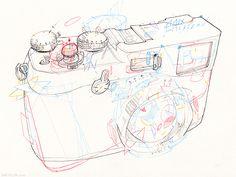 Sketchbook & drawings 2012 by Stephane Tartelin, via Behance