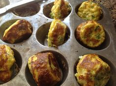 Easy No Carb Egg Muffins for breakfast on the go!