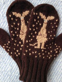 sniff Crochet Mittens, Mittens Pattern, Knitted Hats, Knit Crochet, Knitting Charts, Knitting Stitches, Free Knitting, Knitting Patterns, Fair Isle Knitting