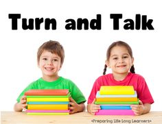 Turn and talk: A partner work strategy to engage 100% of your students!