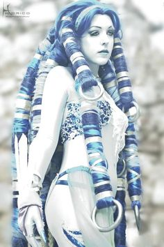Shiva Cosplay from FFX
