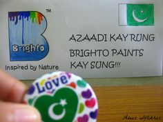 Azaadi Ke Rung, Brighto Paints ke Sung :)
