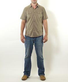 Jeremiah Garment Washed Pocket Shirt for $75