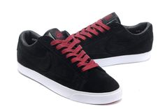 http://www.nikeblazershoes.com/nike-blazer-4-low-mens-skateboarding-shoes-suede-black-red-lace-p-365.html NIKE BLAZER 4 LOW MEN'S SKATEBOARDING SHOES SUEDE BLACK RED LACE Only $73.95 , Free Shipping!