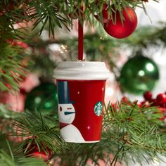 Starbucks® 2012 Holiday Ornament - Red Cup. $4.95 at StarbucksStore.com