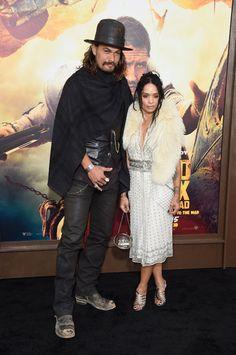 Lisa Bonet and Jason