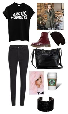 """Untitled #122"" by karis426 ❤ liked on Polyvore featuring moda, Cheap Monday, Dr. Martens, Charlotte Russe i Swarovski"