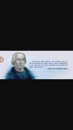 Esta es una escritura que escribio Cristobal Colon el su diario que el tenia.