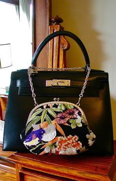 「ビーズ刺繍プチバッグ」・FLOWER BIRD | ガマグチバッグ・お財布 | Shop