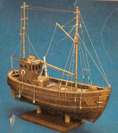 MAINE LOBSTER BOAT Wood Model Boat Kit MW991 $89.99 Historic Scale Wooden Model Boat Kit by ...