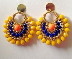 Hand Made Earrings by iliSadovnikAcc on Etsy, $37.99