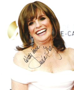 Linda Gray / DALLAS - Autograph Hand Signed 8 x 10 Photo Picture AUTO