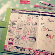 It has been a hectic week so far...i tried to plan ahead this week but failed big time...it just turned out to be a big mess...or as Bob Ross would say a big happy accidents#hobonichi #hobonichitecho #planner #plannerlove #planneraddict #filofax #kikkik #washi