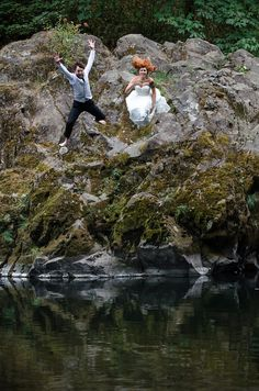 Trash the dress #wedding