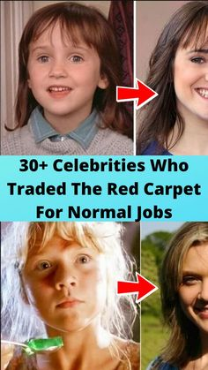 30+ #Celebrities Who #Traded The Red #Carpet For #Normal Jobs