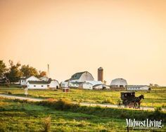 Amish Country...a farm near Middlebury, Indiana. More Indiana photos