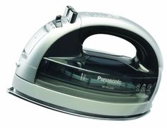 Amazon.com - Panasonic NI-WL600 Cordless Multi-Directional Iron, Stainless Steel Soleplate, Silver/Black - saw at Sewing Expo