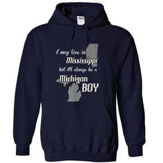 Boy Michigan Missisippi Fun - #gift for him #gift for kids. GUARANTEE => https://www.sunfrog.com/States/Boy-Michigan-Missisippi-Fun-NavyBlue-Hoodie.html?68278