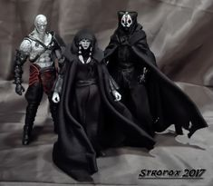 Darth Nihilus custom action figure from the Star Wars series using Kylo Ren as the base, created by Stronox. Star Wars Action Figures, Custom Action Figures, Darth Nihilus, Star Wars Sith, Star Trek, War Novels, Star Wars The Old, Star Wars Facts, Star Wars Concept Art