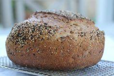 Karen's Kitchen Stories: Multi-grain Boule and harvest grain copycat