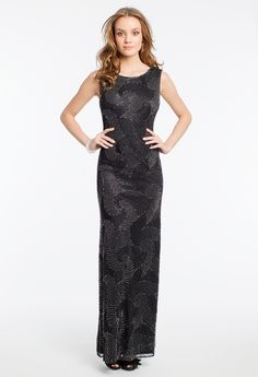Mesh Beaded Sheath Dress from Camille La Vie http://www.camillelavie.com/dress/mesh-beaded-sheath-dress_42240-5306m