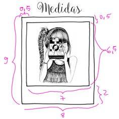 Como fazer varal de fotos - DIY - Faca voce mesmo - Medidas