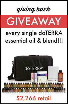 Giving Back Giveaway: Every Oil Kit - $2267 value | www.thepaleomama.com