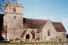 St John The Baptist Church, Latton, Wiltshire Co., England