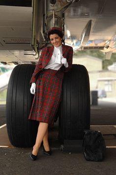 #tbt #dolliesoftheday 'I wish they all could be Caledonian girls' ❤️#britishcaledonian #caledonian #bcal #flightattendant #cabincrew