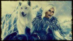 Wolf Warriors, Game Of Thrones Characters, Princess Zelda, Fictional Characters, Art, Craft Art, Kunst, Fantasy Characters