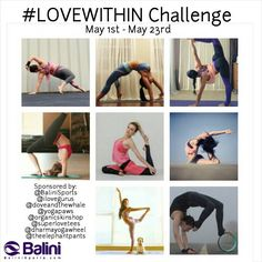 We are halfway in our #LoveWithin Challenge! #LoveWithin Challenge is a series of #backbends so don't forget to join the fun! Follow our gorgeous hosts @lorana_yoga @ayamihiroshige @lovevaleria @lola_beth @chaukeiyoga @angelasyoga @rebekahletch @joe_lizzzzzz_yoga and generous sponsors @dharmayogawheel @doveandthewhale @organicskinshop@theelephantpants @superlovetees@ilovegurus @yogapaws @balinisports #yogachallenge #BaliniSports #yogalove #playfulyogis #yogaeverywhere #backbend