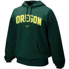 No. 9 - Nike Oregon Ducks Green Classic Arch Hoodie Sweatshirt