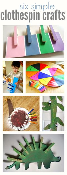 Clothespin Crafts For Kids