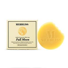 Description How to Use Our Insight Ingredients The Gist: The Merbliss Full Moon cleansing soap is an all natural soap + mask bar that instantly softens ...
