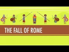 In which John Green teaches you about the fall of the Roman Empire, which happened considerably later than you may have been told. While the Western Roman Empire fell to barbarians in 476 CE, the Byzantines in Constantinople continued the Eastern Empire nicely, calling themselves Romans for a further 1000 years. Find out what Justinian and the r...